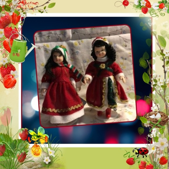 Other - Two Small Porcelain Dolls